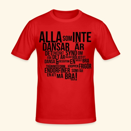 AllaSomINTE - Slim Fit T-shirt herr