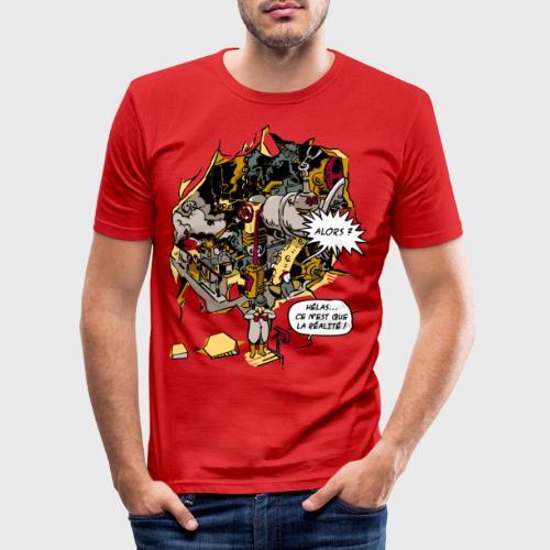 C'est la Réalité - T-shirt près du corps Homme