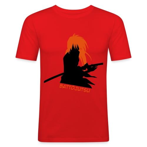 kenshinsilhouette - Men's Slim Fit T-Shirt