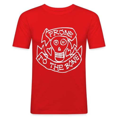 Prone to The Bone - Mannen slim fit T-shirt