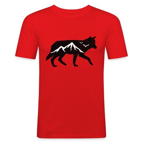 Adventurer Logo - Slim Fit T-skjorte for menn
