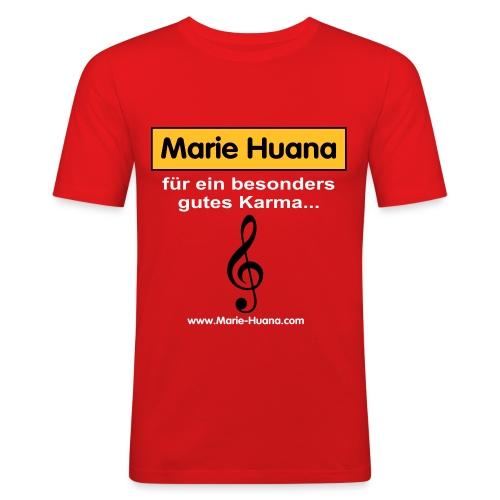 marie_huana_musik_08 - Männer Slim Fit T-Shirt