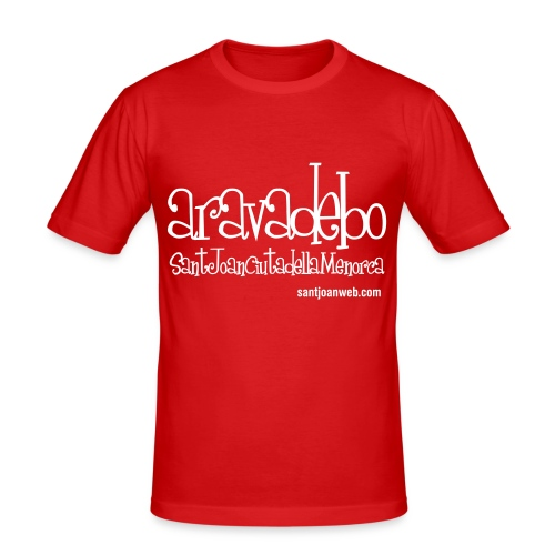 aravadebo - Camiseta ajustada hombre