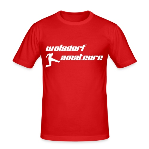 Wolsdorf Amateure - Männer Slim Fit T-Shirt