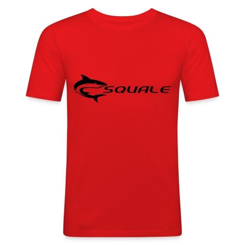 visuel squale new - T-shirt près du corps Homme