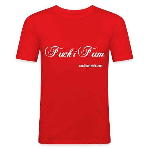 fuckifum - Camiseta ajustada hombre