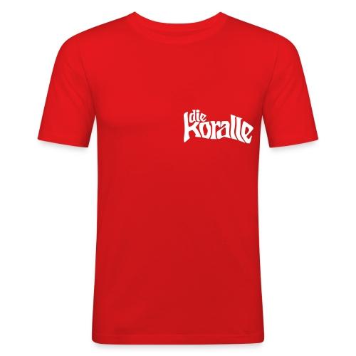 die koralle - Männer Slim Fit T-Shirt