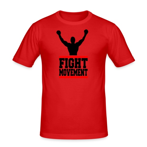 fight movement - Maglietta aderente da uomo