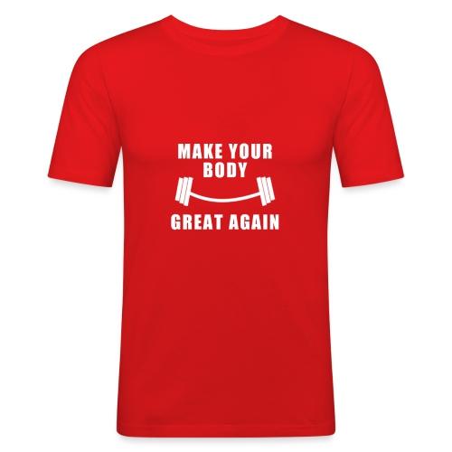 MYBGA 00 B - T-shirt près du corps Homme