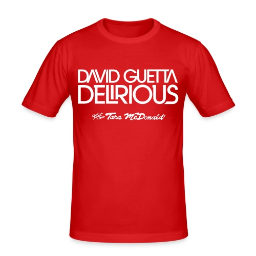 davidguettadelirious - T-shirt près du corps Homme