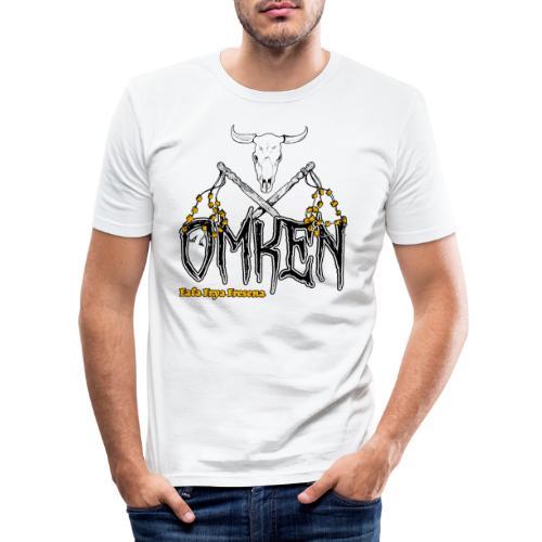 Ostfriesland Häuptlinge Omken - Männer Slim Fit T-Shirt