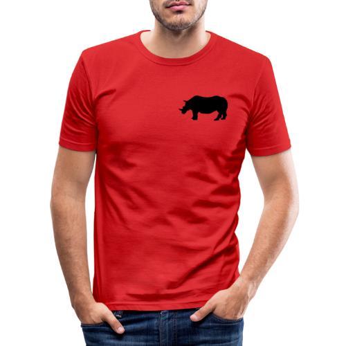 Kleines Narshorn - Männer Slim Fit T-Shirt