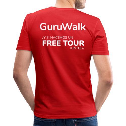 ¿Y si hacemos un free tour juntos? - Camiseta ajustada hombre