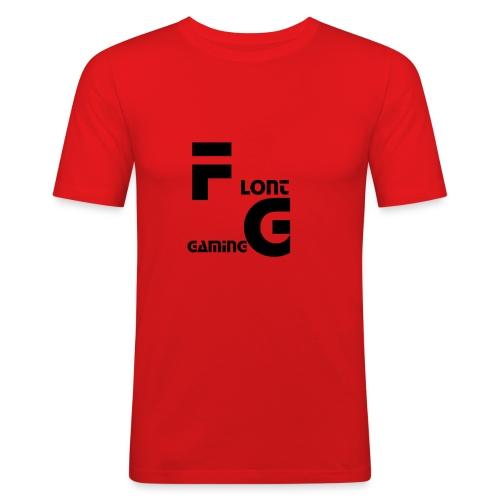 Flont Gaming merchandise - Mannen slim fit T-shirt