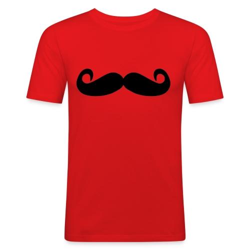 mostacho - Camiseta ajustada hombre