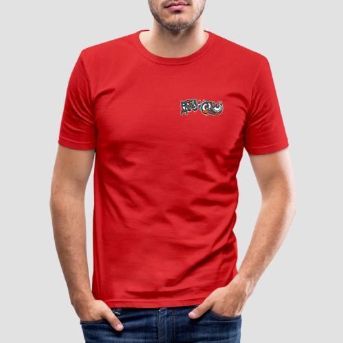 Felix Culpa Designs front & back logo - Men's Slim Fit T-Shirt