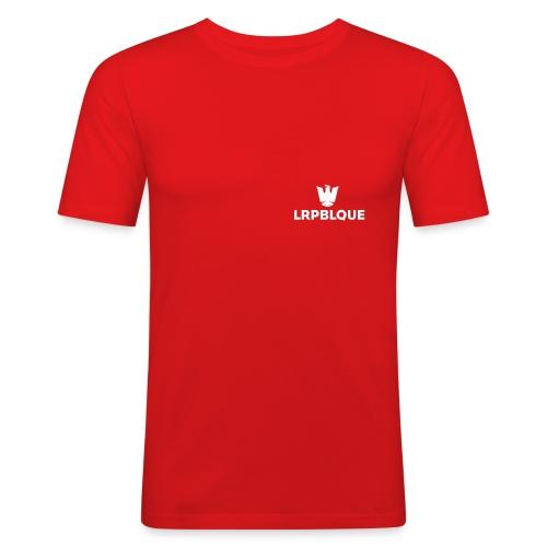 LaRepublique Logo - Männer Slim Fit T-Shirt