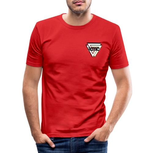 KMC VPlay Logo - Herre Slim Fit T-Shirt