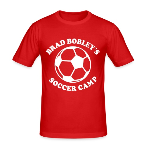 Soccer Camp Logo No Initial - Men's Slim Fit T-Shirt