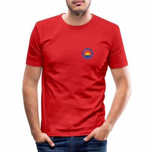 Sonne 08 front/back - Männer Slim Fit T-Shirt