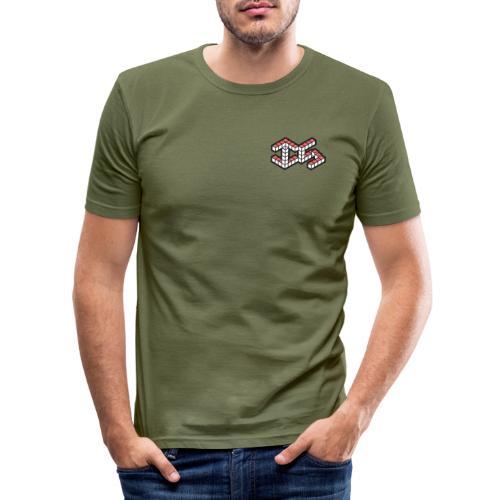 InnSpace Logo Small - Men's Slim Fit T-Shirt