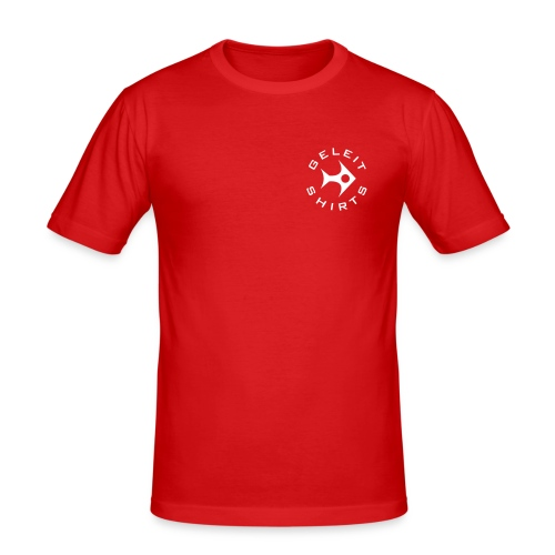 gs logo i - Männer Slim Fit T-Shirt