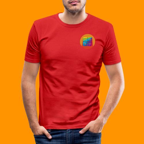 Matemáticas Sin Más Rainbow - Camiseta ajustada hombre