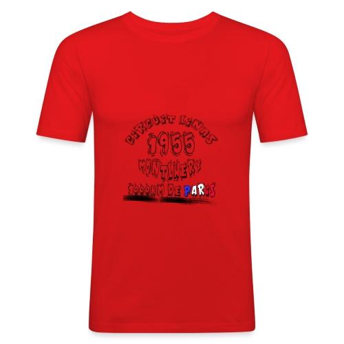 Les anciennes courses automobile - T-shirt près du corps Homme