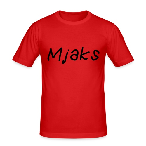 Mjaks 2017 - Mannen slim fit T-shirt