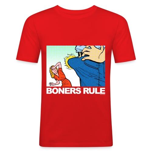 BONERS RULE - Men's Slim Fit T-Shirt