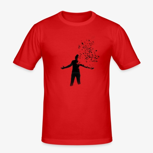 Coming apart. - Men's Slim Fit T-Shirt