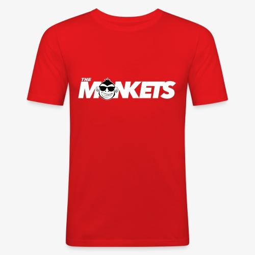 The Monkets logo - Camiseta ajustada hombre