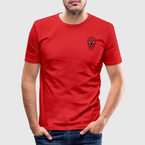 SMUR LOGO PEQUEÑO - Camiseta ajustada hombre
