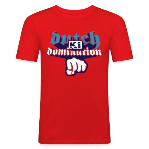 Dutch Domination - Mannen slim fit T-shirt