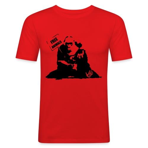 freenanimals2 - Maglietta aderente da uomo