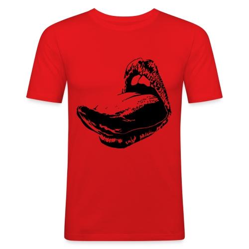 langue femme - T-shirt près du corps Homme
