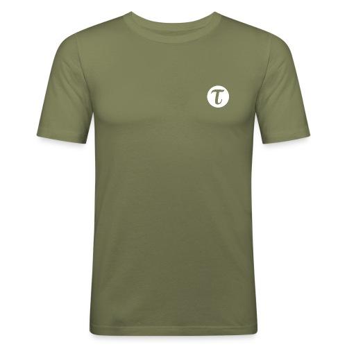 Tau logo iso inv vaate png - Miesten tyköistuva t-paita