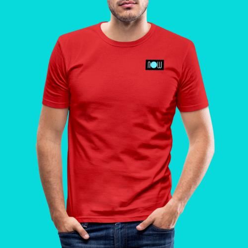 now - Männer Slim Fit T-Shirt