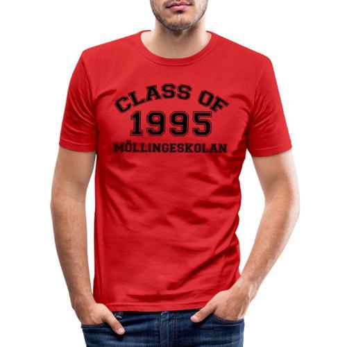 Möllingeskolan 1995 - Slim Fit T-shirt herr