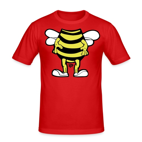 Bee costume - Mannen slim fit T-shirt