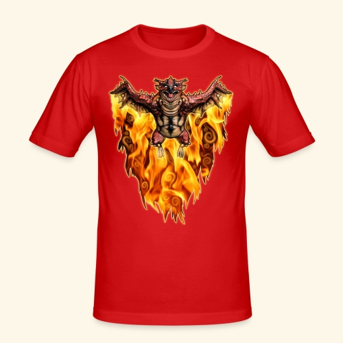 FATALOS - Slim Fit T-shirt herr