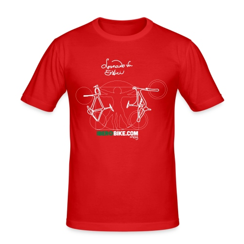 Leonardo Va Envici - Camiseta ajustada hombre