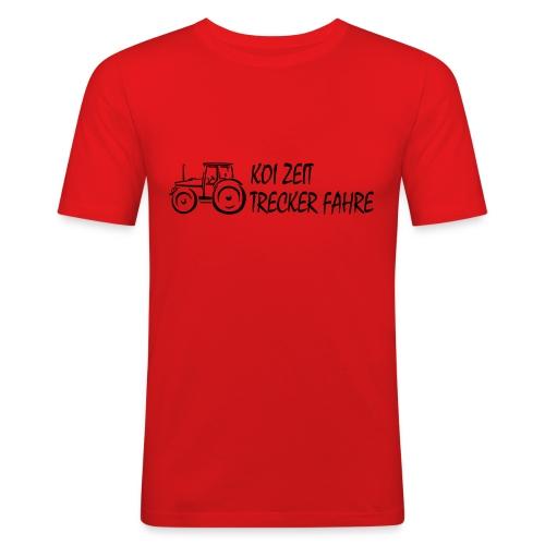 KoiZeit - Trecker - Männer Slim Fit T-Shirt