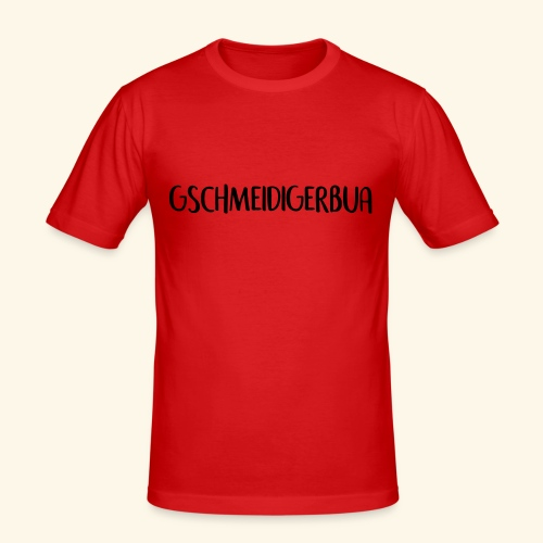 Gschmeidiger Bua - Männer Slim Fit T-Shirt
