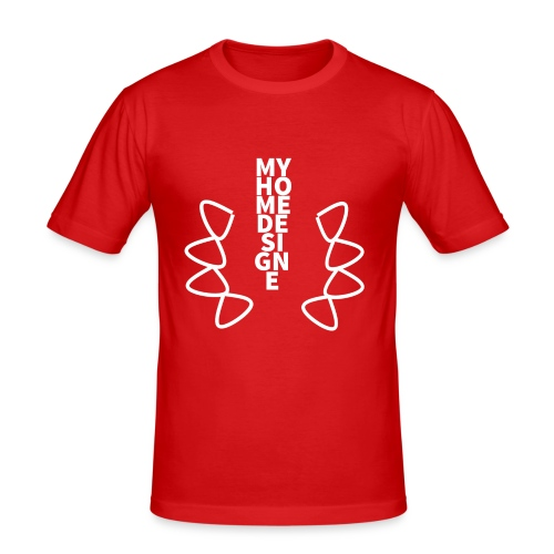 myhomedesing - Männer Slim Fit T-Shirt