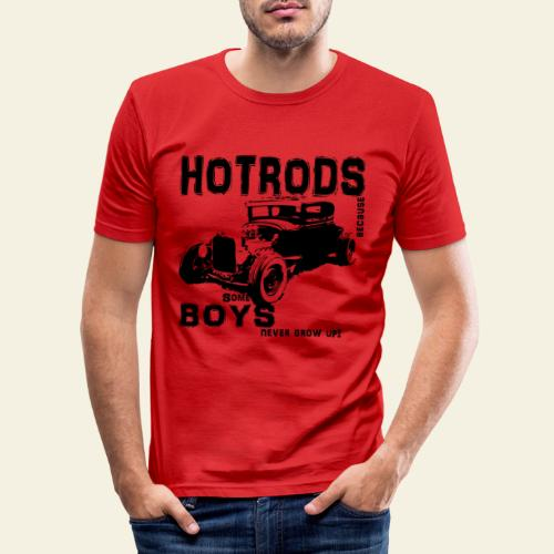 Some boys never grow up - Herre Slim Fit T-Shirt