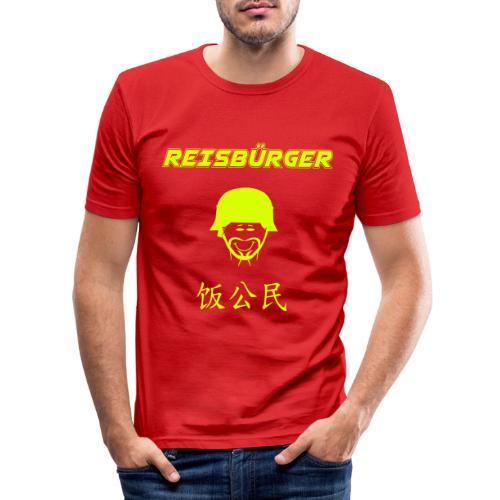 Reisbürger - Männer Slim Fit T-Shirt