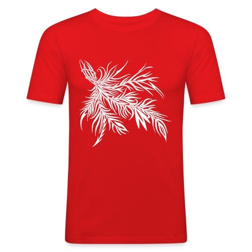 fireleaf 2018 1 - Männer Slim Fit T-Shirt