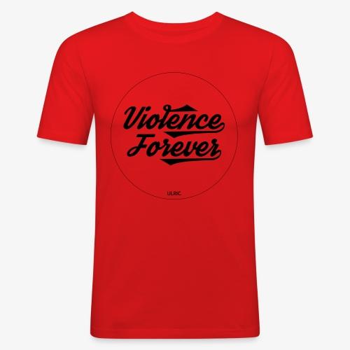 violenceforver - T-shirt près du corps Homme
