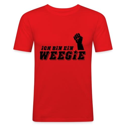Ich Bin Ein Weegie - Men's Slim Fit T-Shirt
